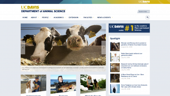 Sample Site - Animal Science Department