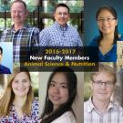 New Faculty 2017-2018 Animal Science & Nutrition